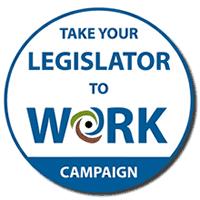 Take Your Legislator to Work LOGO