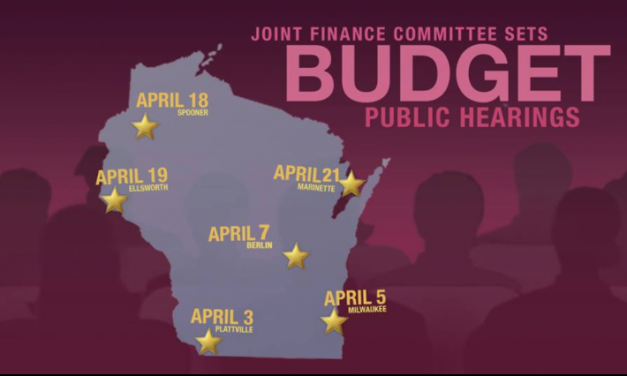 Make Your Voice Heard! Joint Finance Committee Hearings on the State Budget