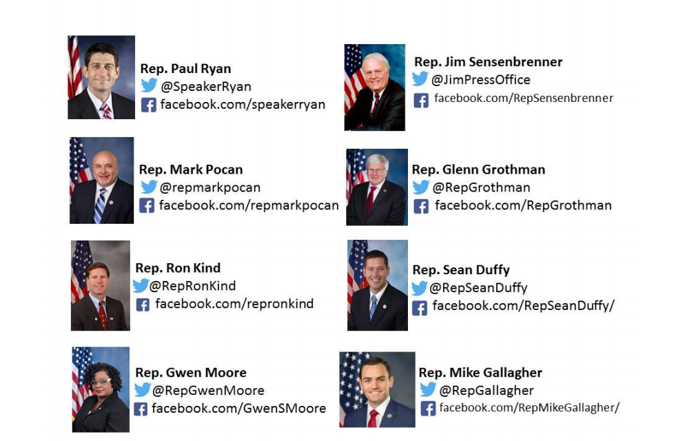 Contact Your Wisconsin Elected Officials