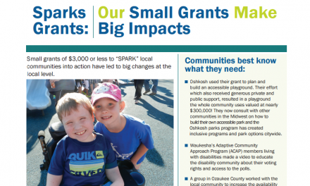 SPARKS Grants: Small Grants Make Big Impacts!
