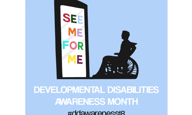 March is Developmental Disabilities Awareness Month