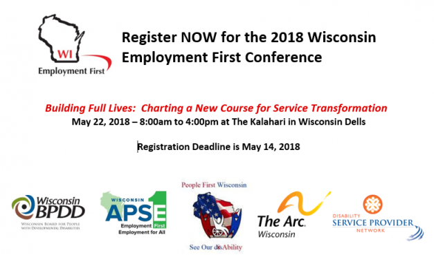 Employment First Conference – Registration Open