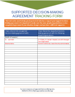 SDM-Tracking Form