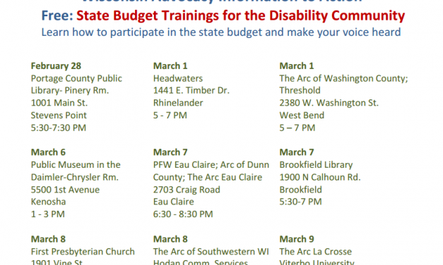 State Budget Training: Register Now