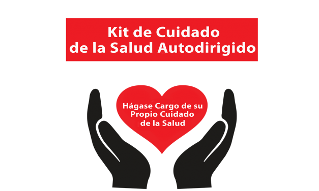 Self-Directed Healthcare Kit in both English and Spanish
