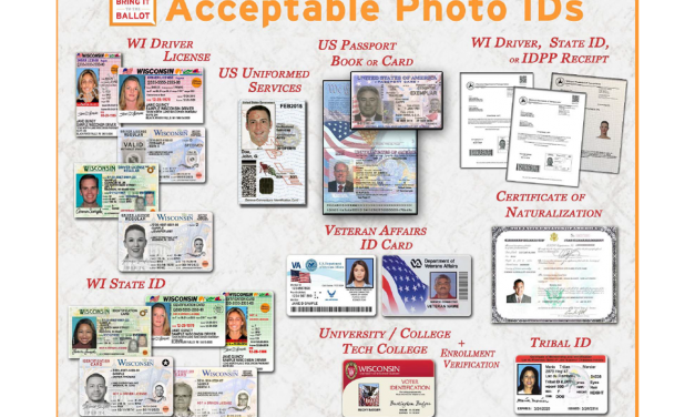 Acceptable Photo IDs to Vote in Wisconsin?