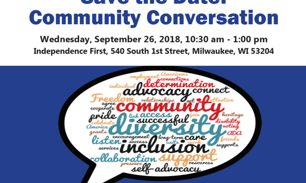 Milwaukee Community Conversation: September 26th