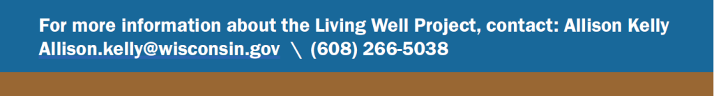 Living Well Grant Contact info Image