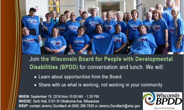 BPDD Community Education Event: September 19th