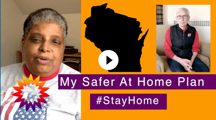 New Self Determination YouTube Channel Video: Safer-at-Home Plan