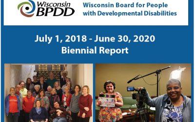 WI BPDD Biennial Report 2018-2020