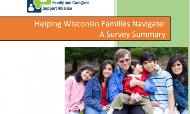 Helping Wisconsin Families Navigate: A Survey Summary